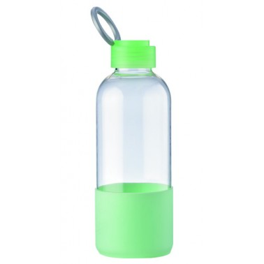 650ml silione tritan water bottle with handle