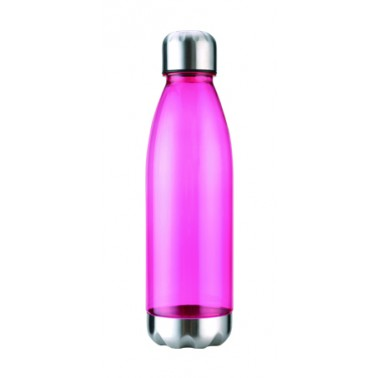 Bpa free tritan water bottle with stainless steel lid