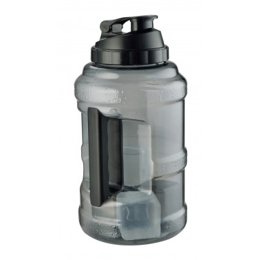 camping water jug 2.5L with ice cube inside