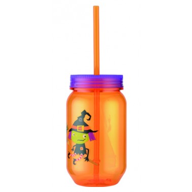 kid's water bottle with straw