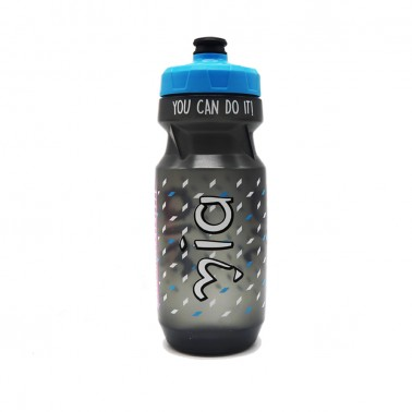 colorful printed bicycle water bottle