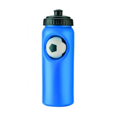 sport water bottle with football