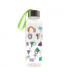 Tritan Water Bottle with colorful print