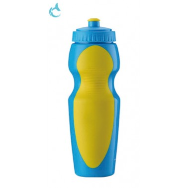 sport drinking water bottle with Push/Pull Cap
