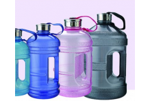 Plastic containers are produced using PET